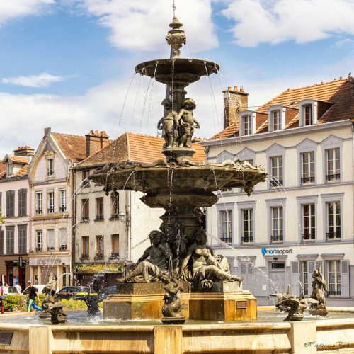 La Fontaine Argence, à Troyes.