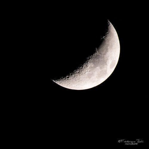 Croissant de lune du 30 mars 2020