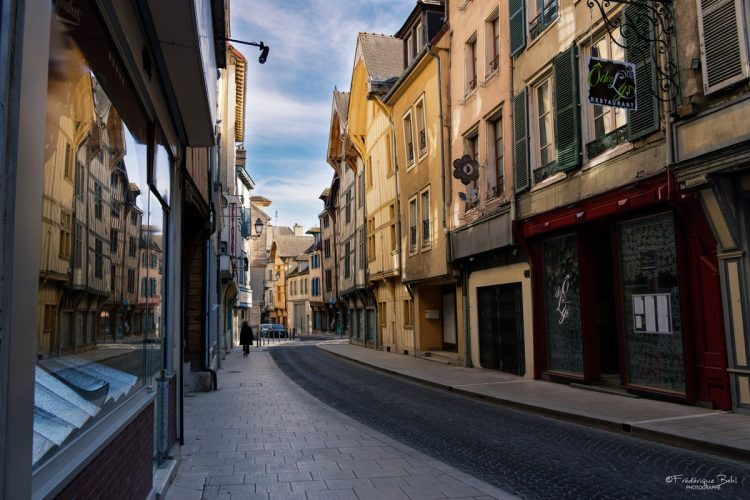 Architecture de la rue Turenne à Troyes