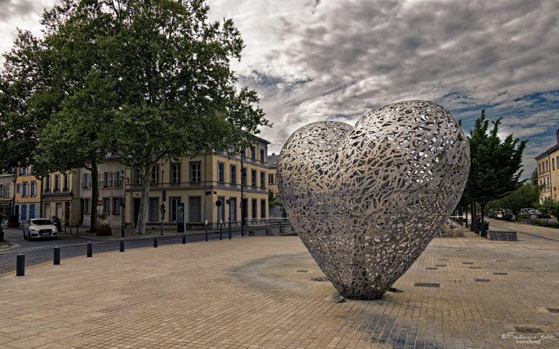 Les alentours du cœur de Troyes en période de confinement.