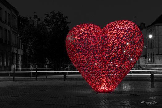 Le cœur de Troyes la nuit